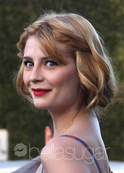 Mischa Barton With Blond Hair and Haircut