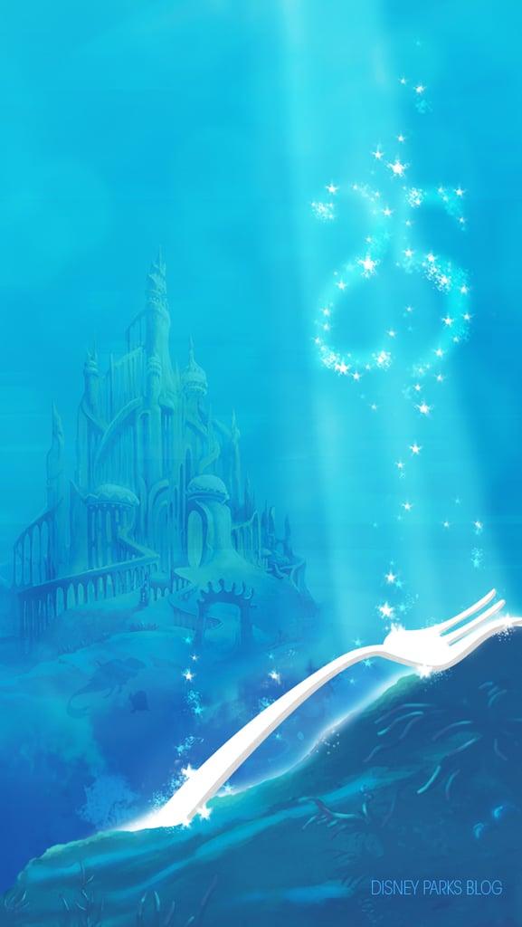 The Little Mermaid Castle Wallpaper