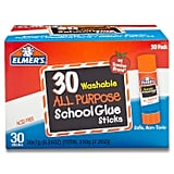 Elmer's All Purpose School Glue Sticks, Washable