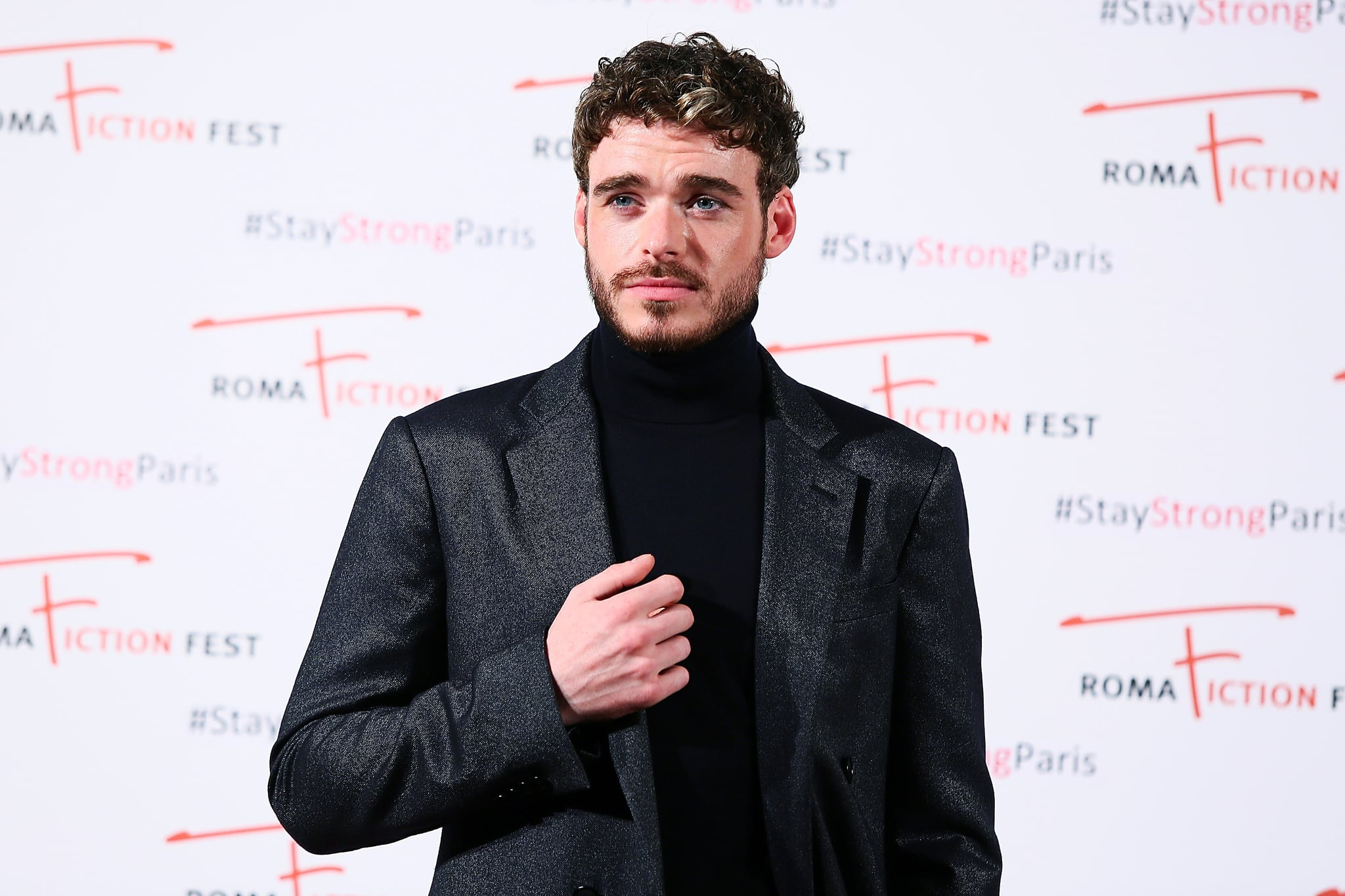 ROME, ITALY - NOVEMBER 14:  Richard Madden attends the 'Medici. Master of Florence e il Rinascimento italiano' photocall during the 9th Roma Fiction Fest at Cinema Adriano on November 14, 2015 in Rome, Italy.  (Photo by Ernesto Ruscio/Getty Images)