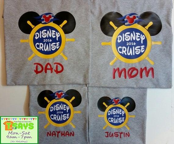 acf277ec Disney Cruise Personalized Family Shirts   Matching Family Disney ...