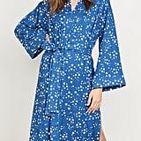 Mason Grey Blue Star Kimono