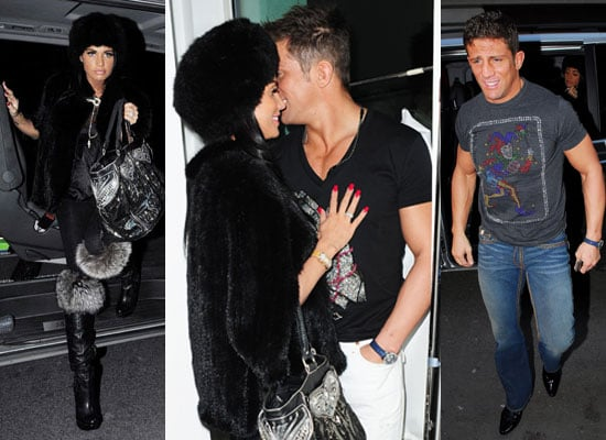 Photos of Jordan Kate Price and Alex Reid in London Ahead of Alex's Interview With Alan Carr Where He Talks Pre-Nups Proposals