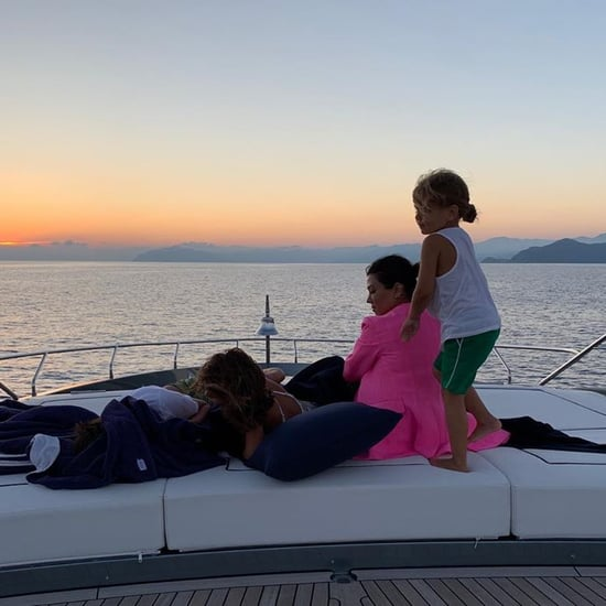 Kourtney Kardashian Italy Vacation Pictures August 2019