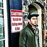 Nick Jonas prepared for snowy conditions. Source: Twitter user nickjonas