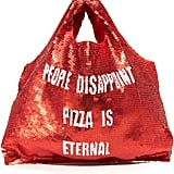 Mua Mua People Disappoint, Pizza Is Eternal Supermarket Bag