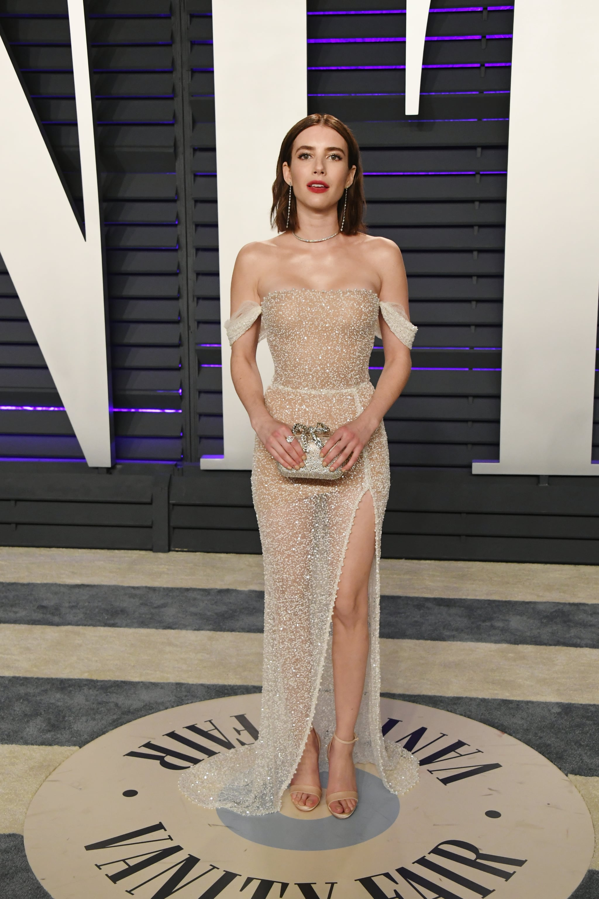 Emma Roberts At The 2019 Vanity Fair Oscar Party The Party Doesn T Start Until You Ve Seen These Oscars Afterparty Dresses Popsugar Fashion Photo 58