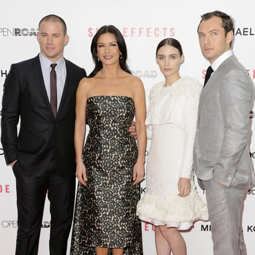Side Effects Premiere: Rooney Mara & Channing Tatum In Suit