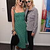 Poppy and Cara Delevingne