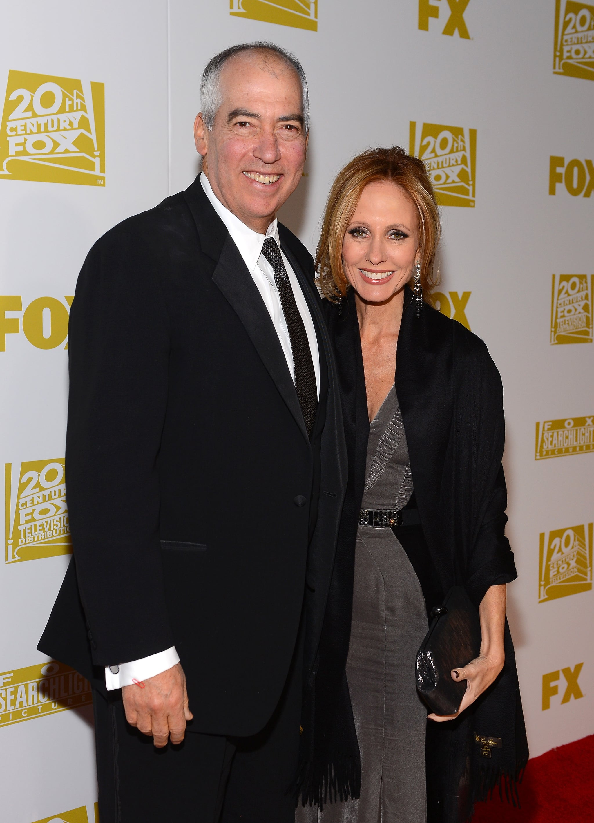 Gary Newman and Dana Walden celebrated the Golden Globes at the Fox celebration.