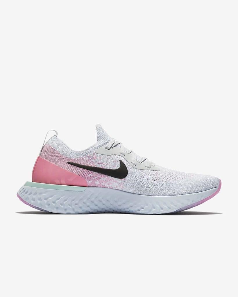 Nike Epic React Flyknit Running Shoe, $220