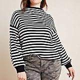 Line & Dot Sydney Balloon-Sleeved Sweater