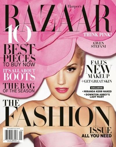 Harper's Bazaar September 2012