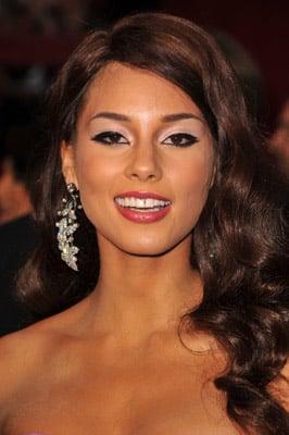 Alicia Keys's Hair and Makeup at the 2009 Oscars