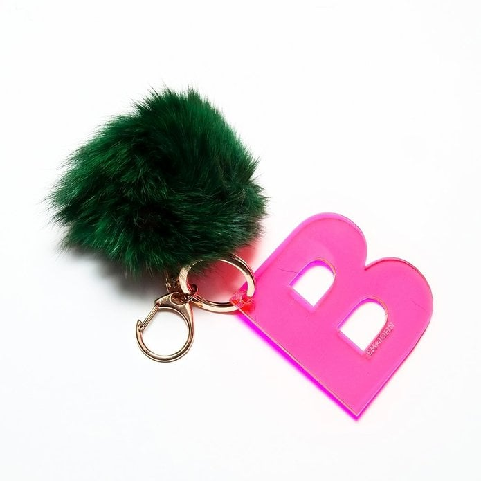 Letter Love Keychain