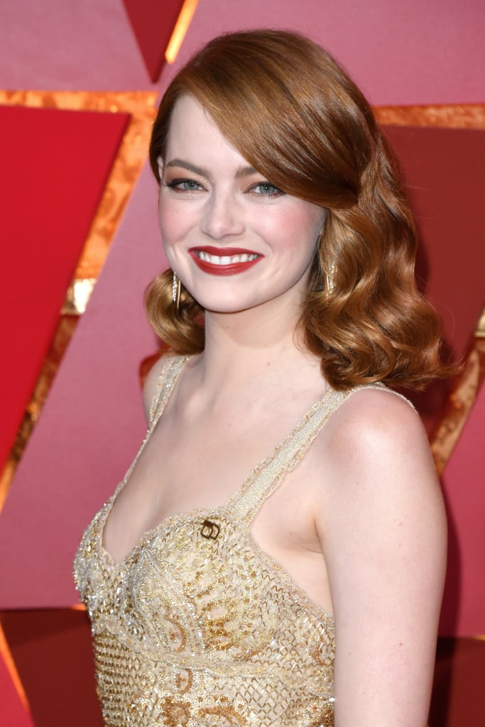 Emma Stone Hair and Makeup at the 2017 Oscars | POPSUGAR ...
