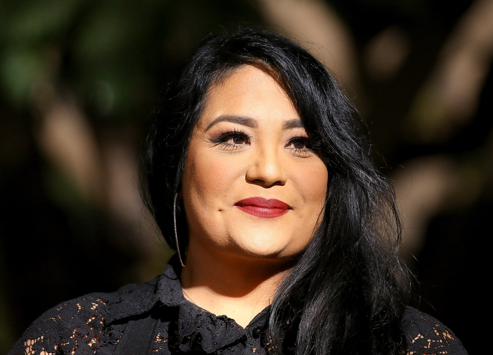 HOLLYWOOD, CA - NOVEMBER 03:  Suzette Quintanilla attends the ceremony honouring Selena Quintanilla with a posthumous Star on The Hollywood Walk of Fame held November 3, 2017 in Hollywood, California.  (Photo by Michael Tran/FilmMagic)