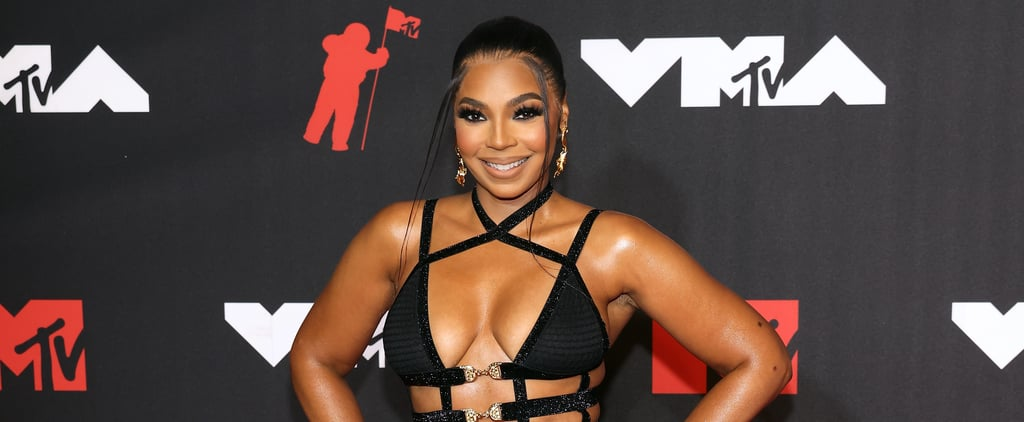Ashanti Wears Sexy Cutout Dress to 2021 MTV VMAs
