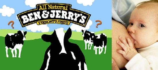 Ben & Jerry's Breast Milk Ice Cream?