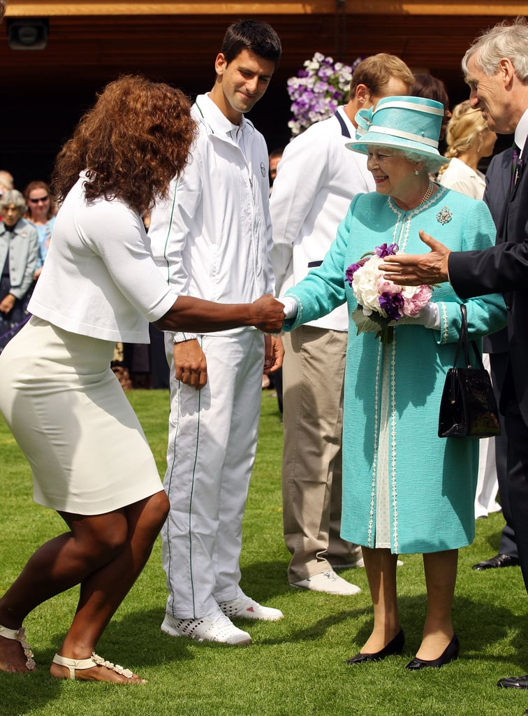 Pictures of Celebs at Wimbledon