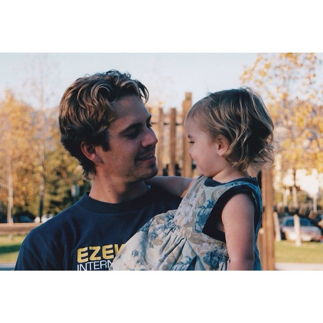 When Paul Walker passed away in November 2013, he left behind a daughter, Meadow, from a former relationship. Since losing her dad, the now-17-year-old has shared photos of them together when she was a little girl on her Instagram feed, along with snaps of herself hanging out with Paul's Fast & Furious costars and taking cute vacations with her friends. She's also been working hard to preserve her father's memory by starting the Paul Walker Foundation, which aims to recognize people's contributions to ocean conservation. We've rounded up the sweet social media pictures that Meadow has posted of her dad.      Related:                                                                Look Back at Paul Walker's Best Hollywood Moments                                                                   How Meadow Walker Is Preserving the Philanthropic Legacy of Her Late Father, Paul