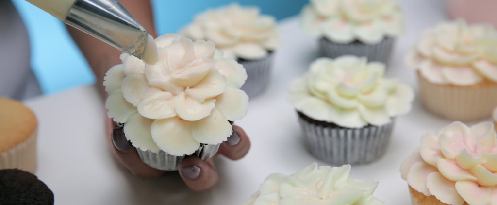 Magnolia Bakery Hibiscus Flower Cupcakes How-To