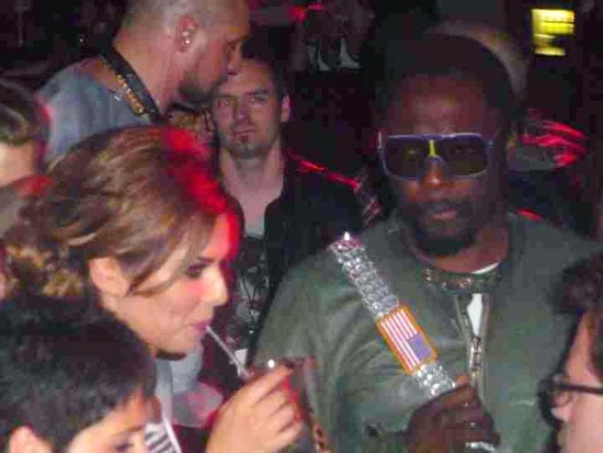 Pictures of Cheryl Cole and Will.i.am Getting Close at Black Eyed Peas Afterparty in London Rumours of Romance Relationship