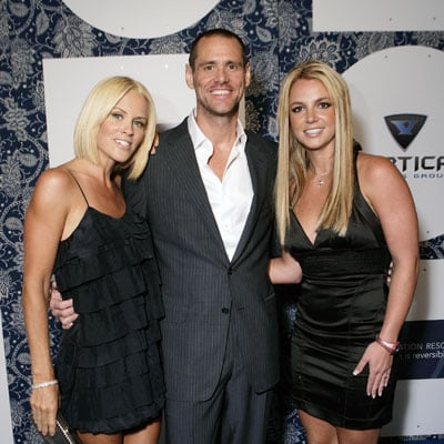 Britney Spears Parties with Jim Carrey and Jenny McCarthy