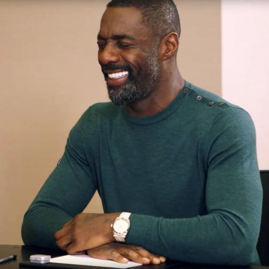 Idris Elba Getting Dating Advice From Kids Video