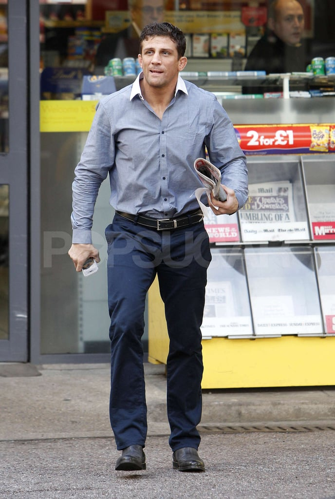 First Pictures of Alex Reid Without Wedding Ring After Katie Price Announced Separation