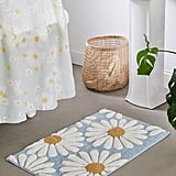 Daisies Tufted Bath Mat