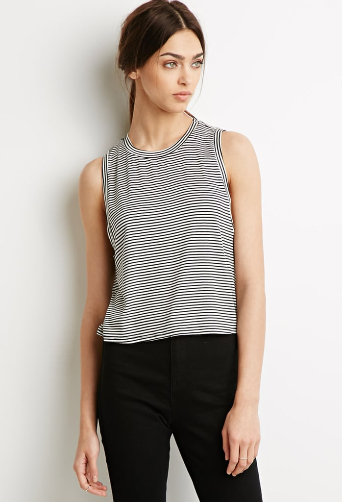 Forever 21 Striped Boxy Tank ($15)