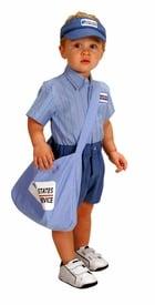 Mailman Costume for Kids ($45)