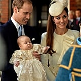 Kate's First Royal Christening