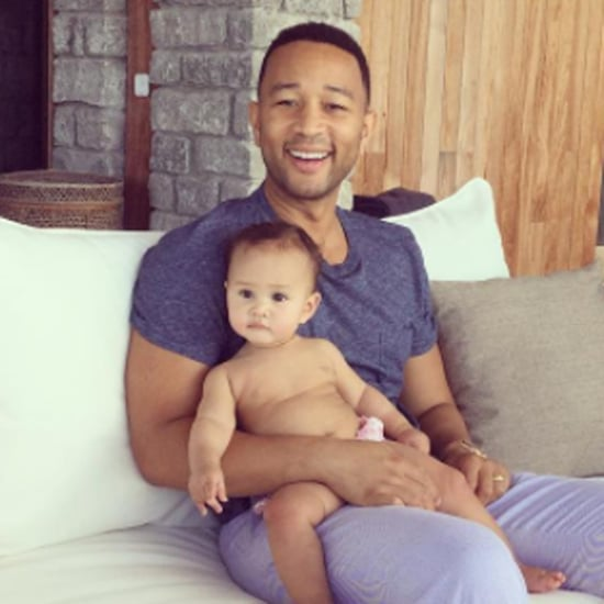 John Legend's Cutest Pictures With Daughter Luna