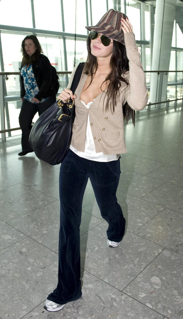 Photos of Megan Fox at the Airport