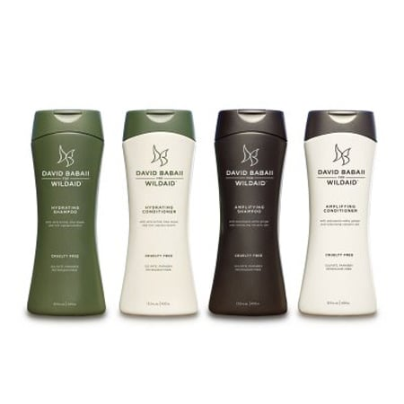 David Babaii for WildAid Hydrating and Amplifying Shampoo, $22.95 each