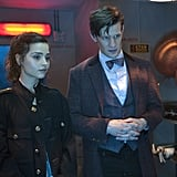 The Doctor, Clara . . . and copper pots.