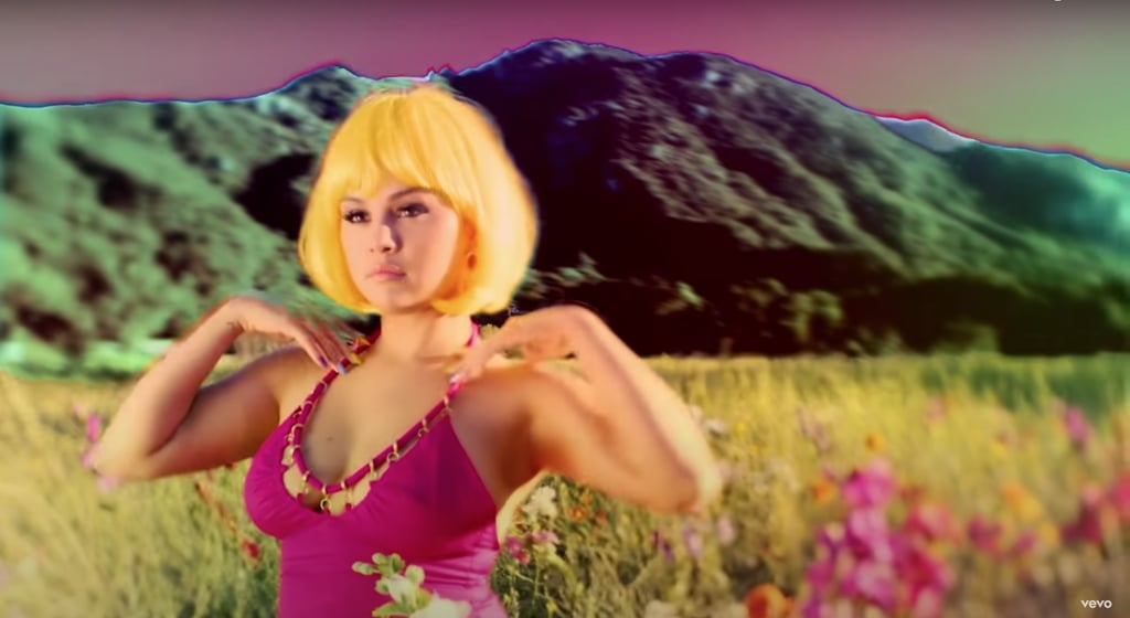 "Selena Gomez Wears Pink Cult Gaia Dress in ""999"" Music Video"