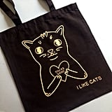 Cat Tote Bag ($15)