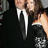 Harvey Weinstein and Georgina Chapman in 2006