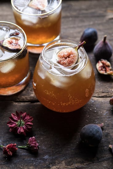 Fig Bourbon Cider Smash