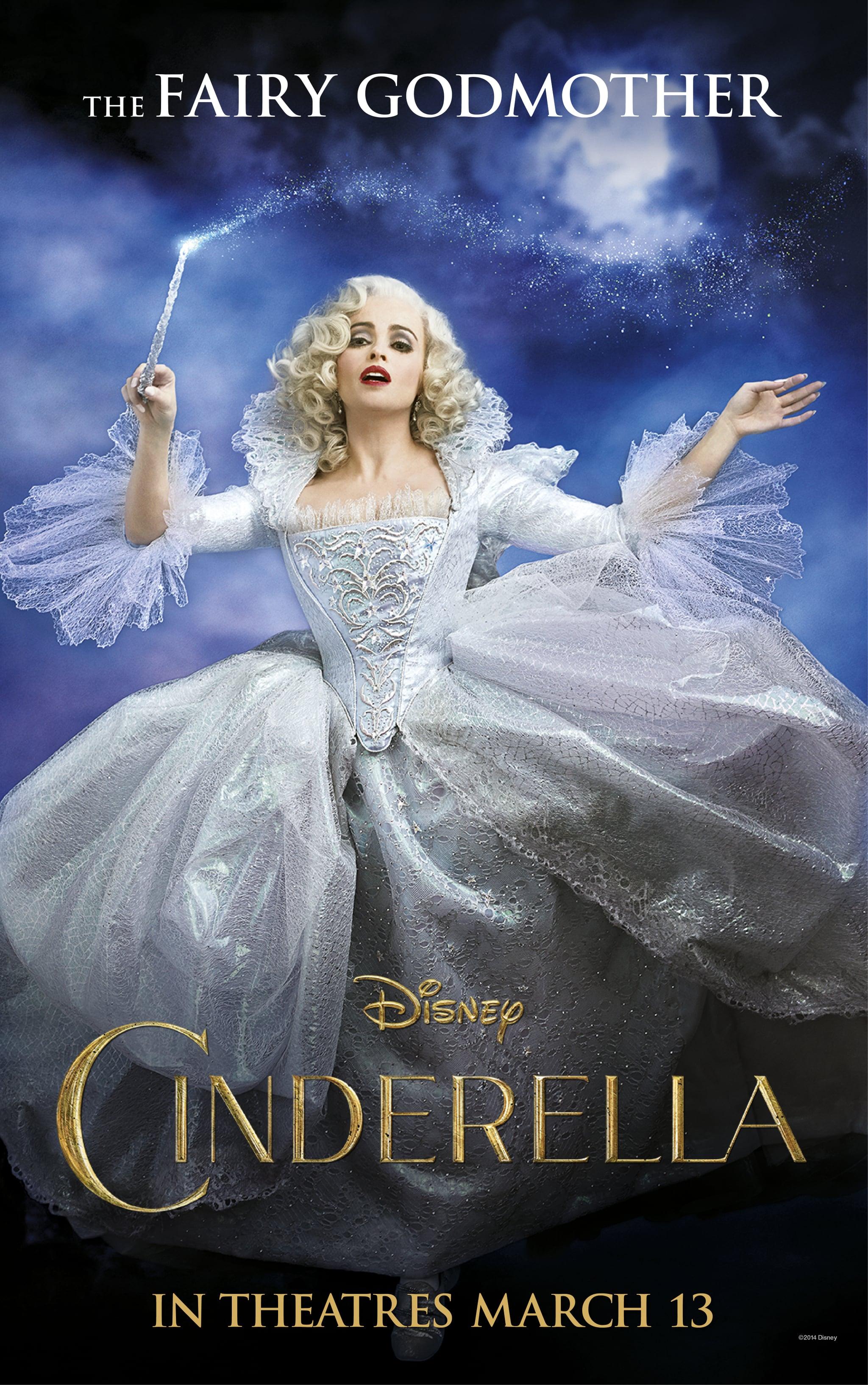 Uncategorized Fairy Godmother Cinderella helena bonham carter as cinderellas fairy godmother poster popsugar entertainment