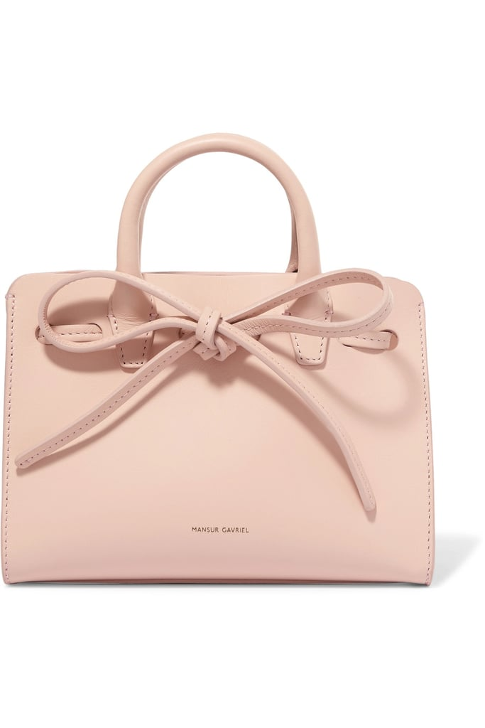 The Mansur Gavriel Sun mini Mini Leather Tote ($495) is a classic and practical choice for the minimalist who wants to stay on trend.