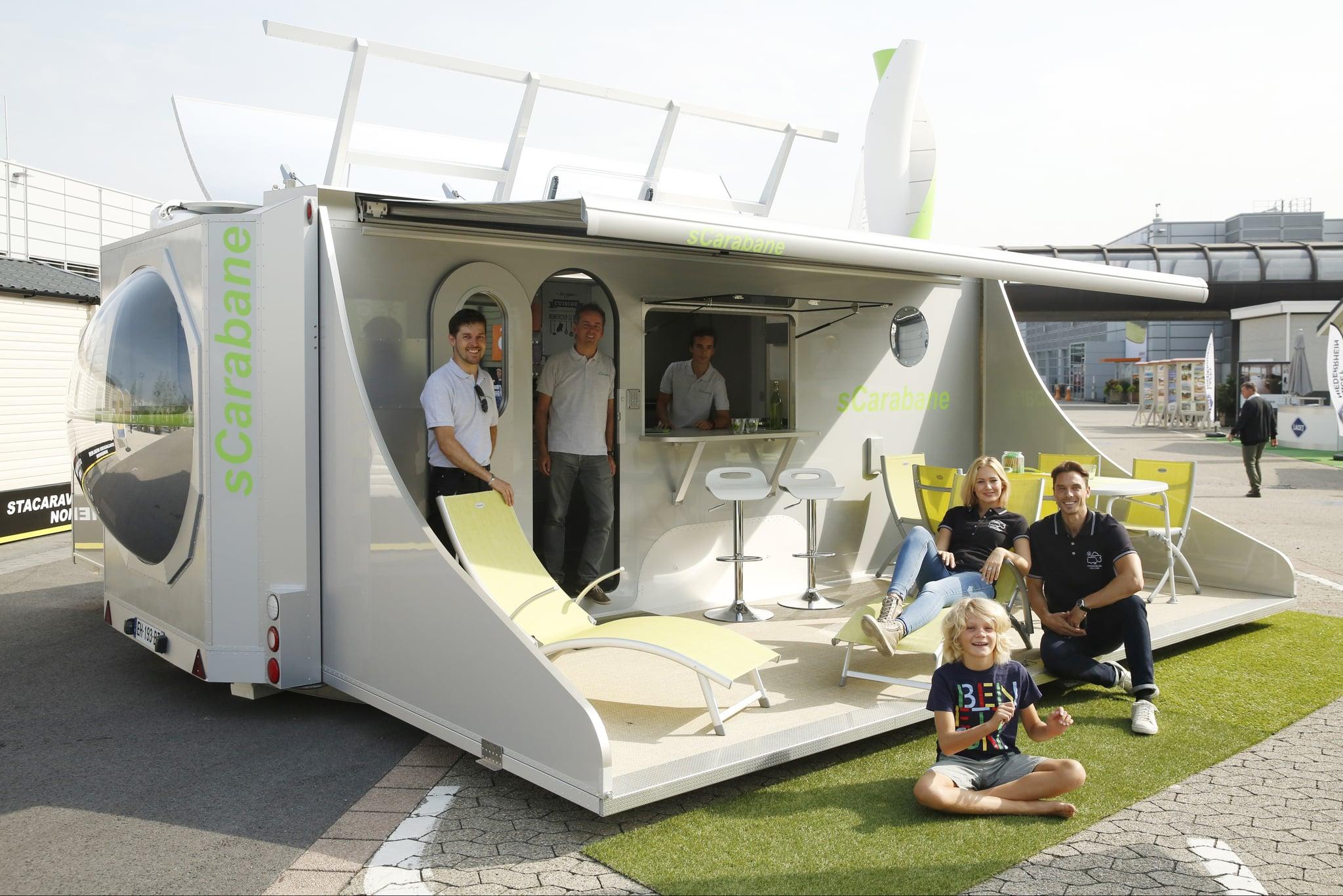 Typical Bedroom Size Scarabane Solar Powered Camper Popsugar Home