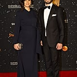 Princess Sofia Debuts Her Baby Bump at a Swanky Swedish Gala