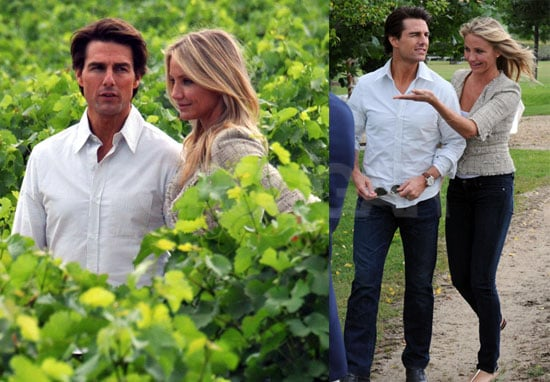 Pictures of Tom Cruise and Cameron Diaz