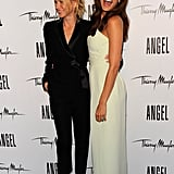 Naomi Watts and Eva Mendes Pictures at a Thierry Mugler Event