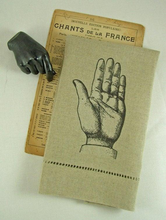 Linen Hand Tea Towel
