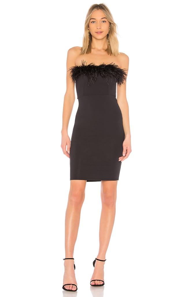 Donna Mizani Feather Dress